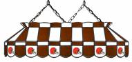 "Cleveland Browns NFL Team 40"" Rectangular Stained Glass Shade"