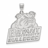 Bryant Bulldogs Sterling Silver Extra Large Pendant