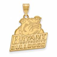Bryant Bulldogs Sterling Silver Gold Plated Large Pendant