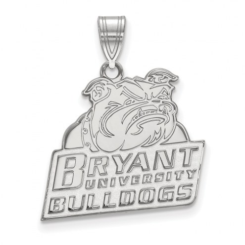 Bryant Bulldogs Sterling Silver Large Pendant