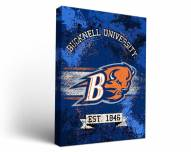 Bucknell Bison Banner Canvas Wall Art
