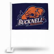 Bucknell Bison College Car Flag
