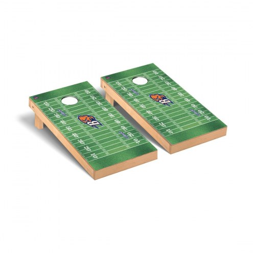 Bucknell Bison Football Field Cornhole Game Set