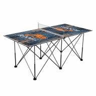 Bucknell Bison Pop Up 6' Ping Pong Table