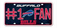 Buffalo Bills #1 Fan License Plate