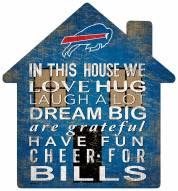 """Buffalo Bills 12"""" House Sign"""