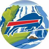 "Buffalo Bills 12"" Landscape Circle Sign"