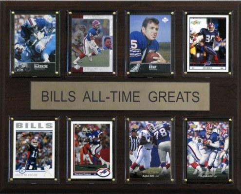 "Buffalo Bills 12"" x 15"" All-Time Greats Plaque"
