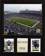 """Buffalo Bills 12"""" x 15"""" Stadium Plaque"""