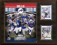 "Buffalo Bills 12"" x 15"" Team Plaque"
