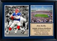 "Buffalo Bills 12"" x 18"" Jim Kelly Photo Stat Frame"