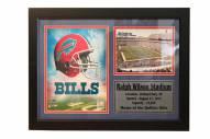 """Buffalo Bills 12"""" x 18"""" Photo Stat Frame"""