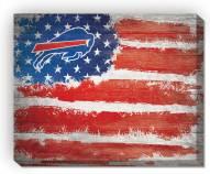 "Buffalo Bills 16"" x 20"" Flag Canvas Print"