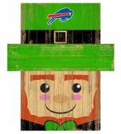 "Buffalo Bills 19"" x 16"" Leprechaun Head"