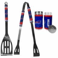 Buffalo Bills 2 Piece BBQ Set with Tailgate Salt & Pepper Shakers