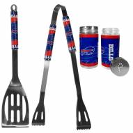 Buffalo Bills 2 Piece BBQ Set with Tailgate Salt & Pepper Shakers
