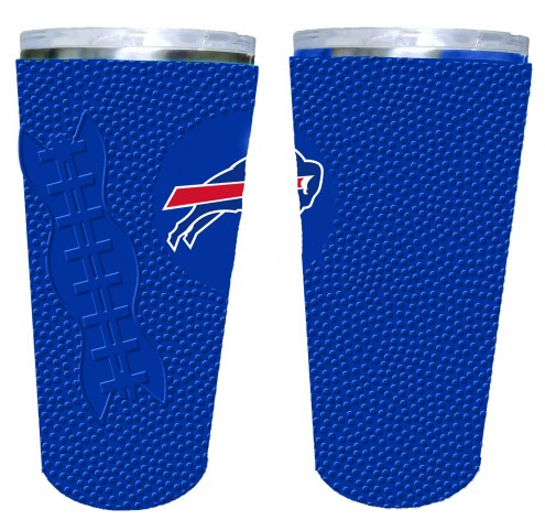 Buffalo Bills 20 oz. Stainless Steel Tumbler with Silicone Wrap