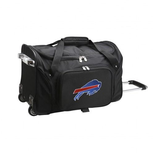"""Buffalo Bills 22"""" Rolling Duffle Bag"""