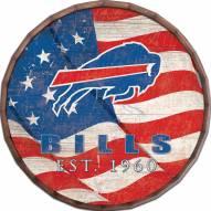 "Buffalo Bills 24"" Flag Barrel Top"