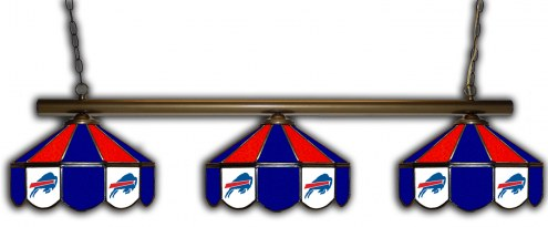 Buffalo Bills 3 Shade Pool Table Light