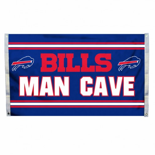 Buffalo Bills 3' x 5' Man Cave Flag