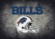 Buffalo Bills 4' x 6' NFL Distressed Area Rug