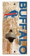 "Buffalo Bills 6"" x 12"" Distressed Bottle Opener"
