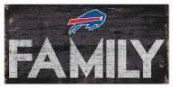 "Buffalo Bills 6"" x 12"" Family Sign"