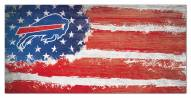 "Buffalo Bills 6"" x 12"" Flag Sign"