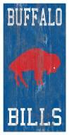 """Buffalo Bills 6"""" x 12"""" Heritage Logo Sign"""