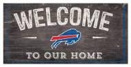 "Buffalo Bills 6"" x 12"" Welcome Sign"