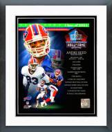 Buffalo Bills Andre Reed 2014 Hall of Fame Composite Framed Photo