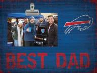 Buffalo Bills Best Dad Clip Frame