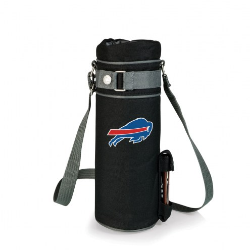 Buffalo Bills Black Wine Sack