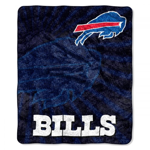 Buffalo Bills Burst Sherpa Blanket
