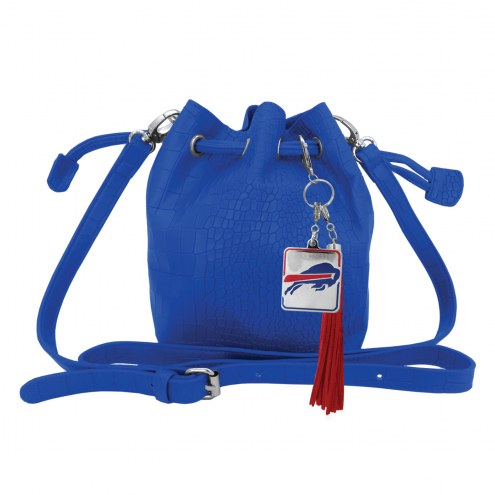 Buffalo Bills Charming Mini Bucket Bag