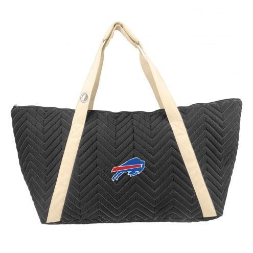 Buffalo Bills Chevron Stitch Weekender Bag