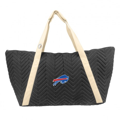 Buffalo Bills Chevron Stitch Weekender Bag
