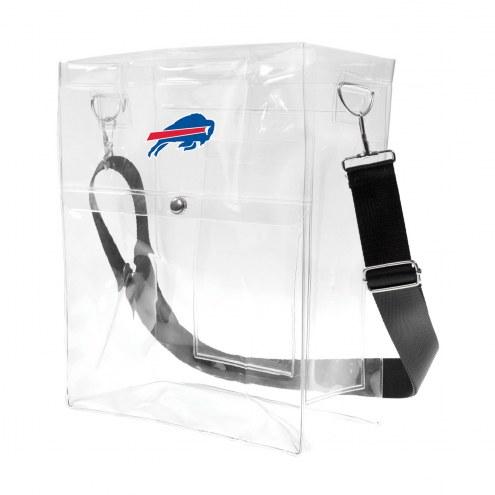 Buffalo Bills Clear Ticket Satchel