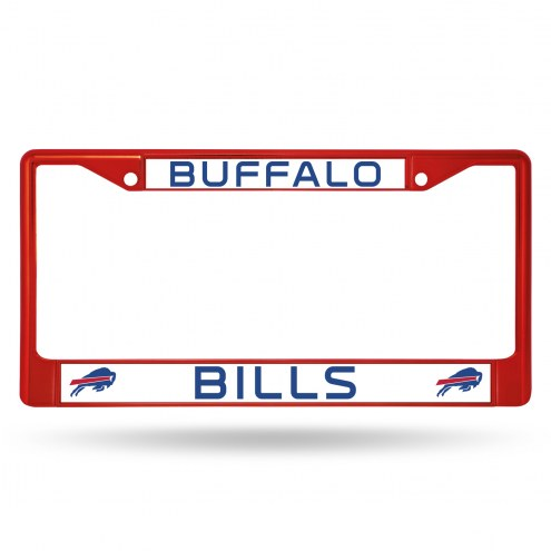 Buffalo Bills Colored Chrome License Plate Frame