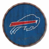 """Buffalo Bills Cracked Color 16"""" Barrel Top"""