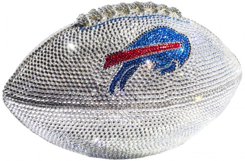 Buffalo Bills Swarovski Crystal Football