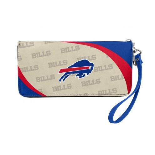 Buffalo Bills Curve Zip Organizer Wallet