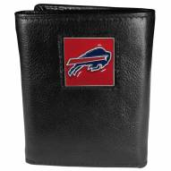Buffalo Bills Deluxe Leather Tri-fold Wallet in Gift Box