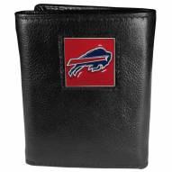 Buffalo Bills Deluxe Leather Tri-fold Wallet in Gift Box