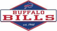 Buffalo Bills Diamond Panel Metal Sign