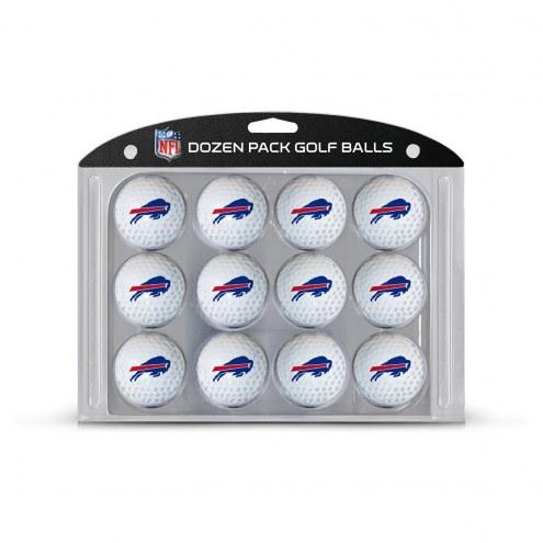 Buffalo Bills Dozen Golf Balls