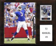 "Buffalo Bills E.J. Manuel 12"" x 15"" Player Plaque"