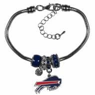 Buffalo Bills Euro Bead Bracelet