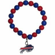 Buffalo Bills Fan Bead Bracelet